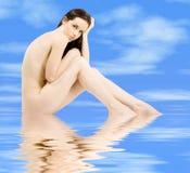 Implied nude Stock Photos