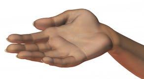 Implorando a mão Imagem de Stock Royalty Free