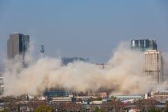 Implosion 11 de Munitoria images stock