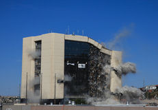 Implosion Stock Photography