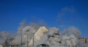 Implosion Stock Image