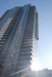 Imponera skyskrapabyggnad royaltyfria bilder