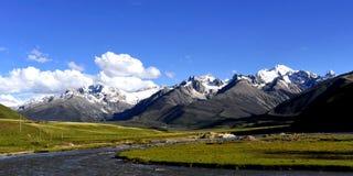 Imponerande föreställning landskap Royaltyfria Bilder