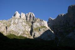 Imponierende Berge Stockfotografie