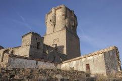 Imponująco Belalcazar kasztelu wierza, cordoba, Hiszpania obrazy stock