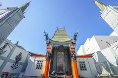 - 20, 2017 imponująco Grauman TCL Chiński teatr w Hollywood, LOS ANGELES, KALIFORNIA, KWIETNIU - fotografia royalty free