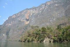 Imponująco Sumidero jar w Chiapas Meksyk zdjęcia royalty free