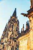Imponująco wizerunek piękna architektura StVitus Cathe Obraz Royalty Free