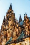 Imponująco wizerunek piękna architektura StVitus Cathe Fotografia Royalty Free