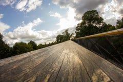 Imponująco Drzewny dom w Królewskich Kew ogródach, Londyn Obraz Stock