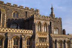 Imponująco Norwich ratusz Obrazy Stock
