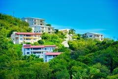 Imponująco wakacji domy w wyspa terenie Zdjęcia Stock