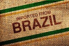 Importé du Brésil Images stock