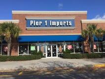 (1) importów mola sklep Obraz Stock