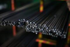 Import av metallhögar royaltyfri fotografi