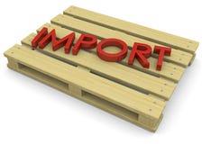 Import Concept - 3D Stock Image
