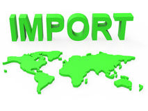 Import Global Shows Buy Abroad And Worldly Stock Photo