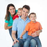 The importance of being family Stock Photo