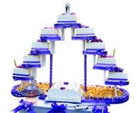 Importance of wedding cake Stock Photo