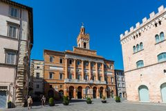 Free Important Buildings In Foligno, Italy Stock Photography - 99583862
