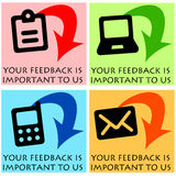 Important feedback Royalty Free Stock Images