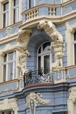 Important historic building in Prague in Czech republic Royalty Free Stock Photo