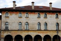 Important and historic building of Vicenza in Veneto (Italy) Royalty Free Stock Photography