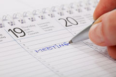 Important Meeting Stock Image