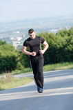 Important workout for healthy life Stock Images