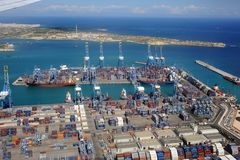 Importations-exportations Photos libres de droits