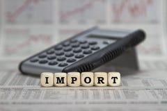 importazione fotografia stock libera da diritti