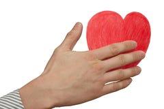 Importe-se seu coração Foto de Stock