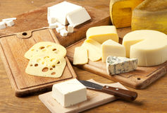 Imported cheese Royalty Free Stock Photography