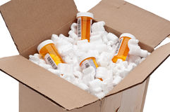 Imported prescription medication Royalty Free Stock Photo