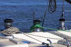 Importent sailboat equipment Royalty Free Stock Photos
