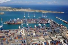 Importowy eksport Zdjęcia Royalty Free