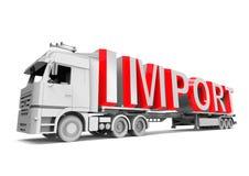 Importowy pojęcie Obraz Stock