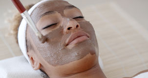 Impose Cosmetic Mask Royalty Free Stock Photography