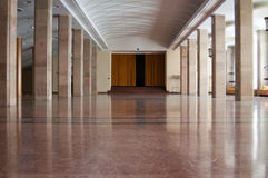 Imposing interior design hall. With marble and other modern finishes Stock Photo