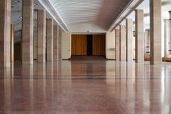 Imposing interior design hall Stock Photo