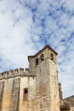 The imposing medieval castle Stock Photo