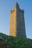 The Imposing Scrabo Tower in Northern Ireland Royalty Free Stock Photo