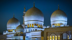 Sheikh Zayed Grand Mosque in Abu Dhabi 17 Royalty Free Stock Image