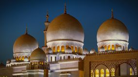 Sheikh Zayed Grand Mosque in Abu Dhabi 18 Royalty Free Stock Photo