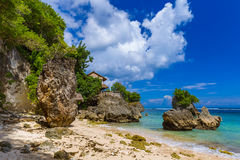 Impossible Beach - Bali Indonesia Royalty Free Stock Photography