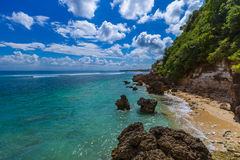 Impossible Beach - Bali Indonesia Stock Photos