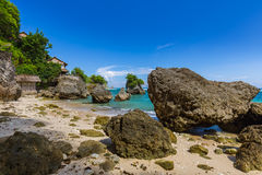 Impossible Beach - Bali Indonesia Royalty Free Stock Photos