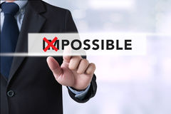 Impossible concept Royalty Free Stock Photo