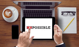 Impossible concept Stock Photography