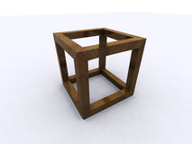 Impossible cube Royalty Free Stock Images